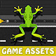 Cross The Road Frog Game Tileset & Sprite Sheet - GraphicRiver Item for Sale