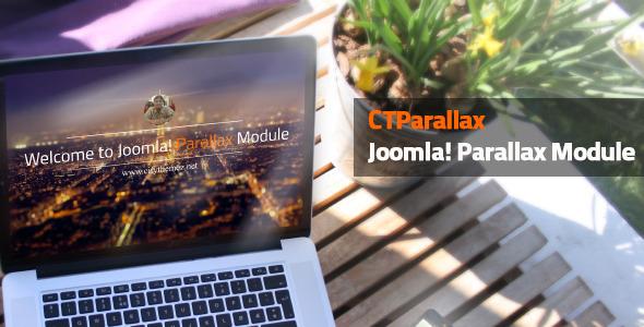 CTParallax - Joomla! Parallax Module - CodeCanyon Item for Sale
