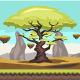 Elder Tree Game Background - GraphicRiver Item for Sale