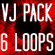 Lighting Threads VJ Pack - VideoHive Item for Sale