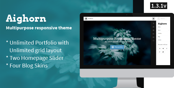 Aighorn WP - Multipurpose Responsive theme
