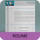 Corporate Resume Template SN-04 - GraphicRiver Item for Sale