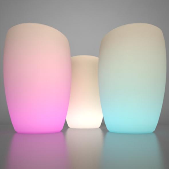 Illuminated Planter 3 - 3DOcean Item for Sale