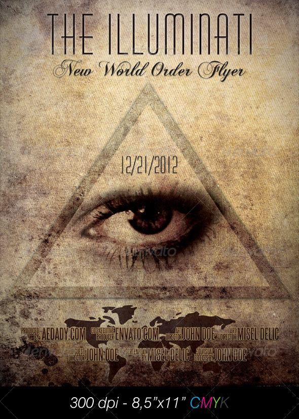 Illuminati Film Poster - Miscellaneous Events