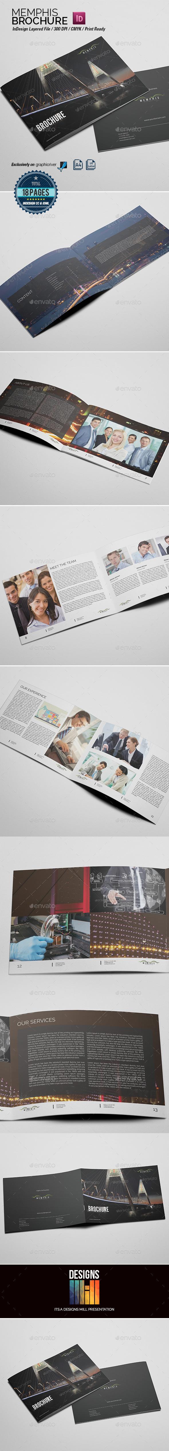 Memphis Multipurpose Brochure - Corporate Brochures