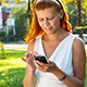 Woman With Smartphone - VideoHive Item for Sale