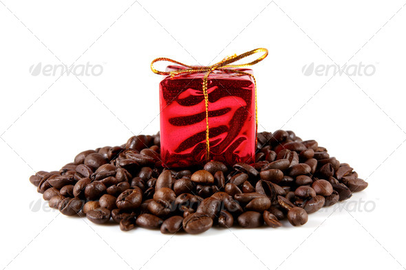 Coffee Gift - Stock Photo - Images