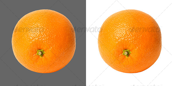 Orange - Food & Drink Isolated Objects