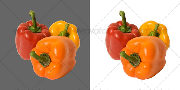 Bell Peppers - Food & Drink Isolated Objects