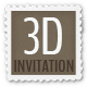 3D Invitation - Multipurpose Invitation Template - ThemeForest Item for Sale