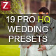 19 Pro HQ Wedding Presets - GraphicRiver Item for Sale