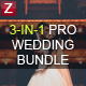 3-in-1 Pro Wedding Bundle - GraphicRiver Item for Sale