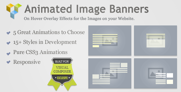 Animated Image Banners for Visual Composer - CodeCanyon Item for Sale