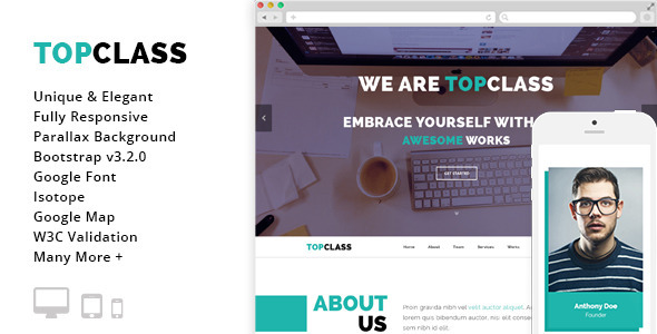 Top Class - Multipurpose HTML5 Responsive Template - Business Corporate
