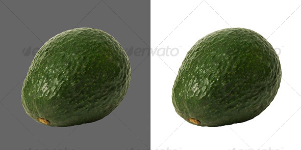 Avocado - Food & Drink Isolated Objects