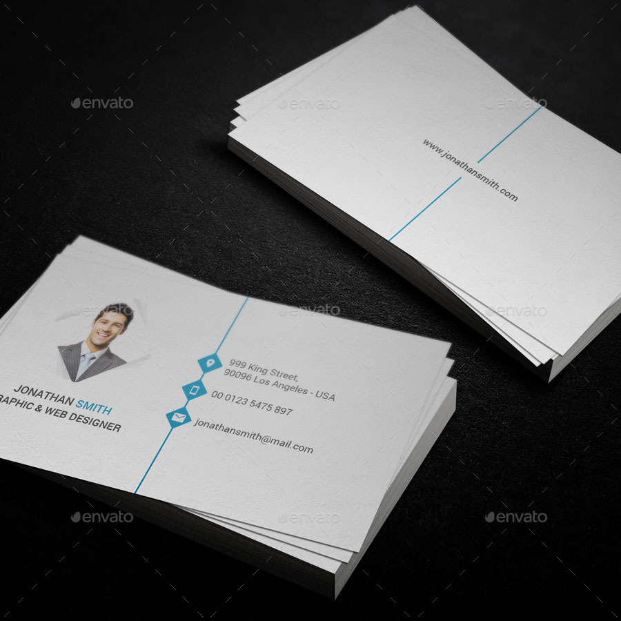 Creative Resume Cover Letter Business Card by Saerox GraphicRiver