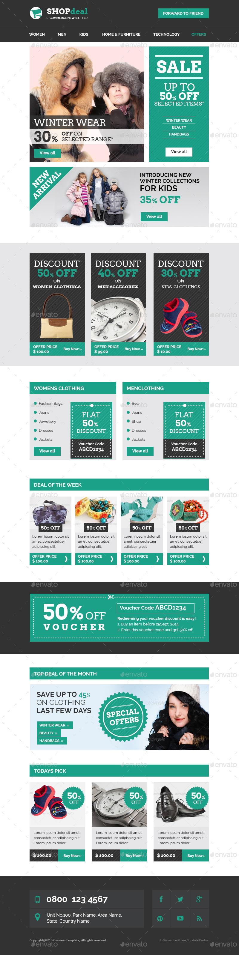 offer email template