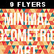 9 Geometric Flyers and Business Cards - GraphicRiver Item for Sale