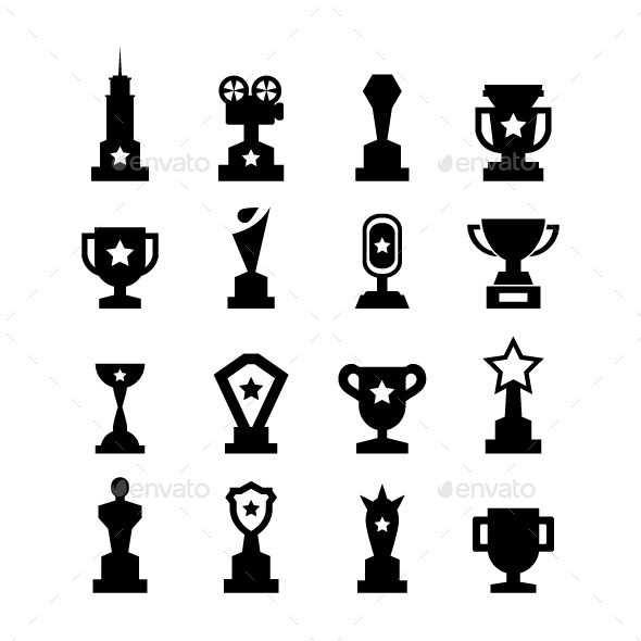 Trophy Icons By Tzubasa