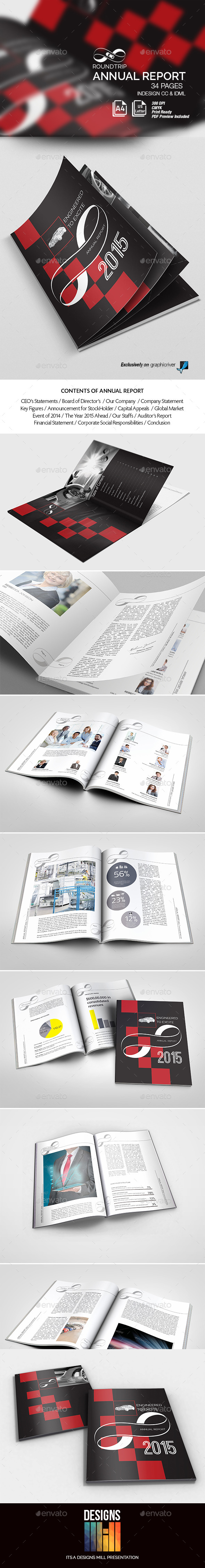 Round Trip Annual Report - Corporate Brochures