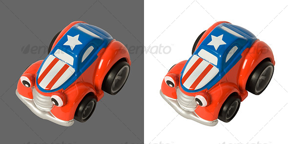 Toy Car - Activities & Leisure Isolated Objects