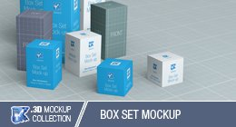 Box Set Mockup