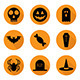 Halloween Icons Set - Vector - GraphicRiver Item for Sale