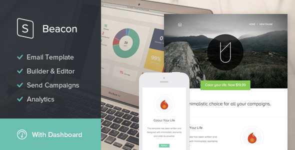 Beacon - StampReady Email Template - Newsletters Email Templates