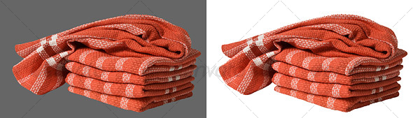 Tea Towels - Home & Office Isolated Objects
