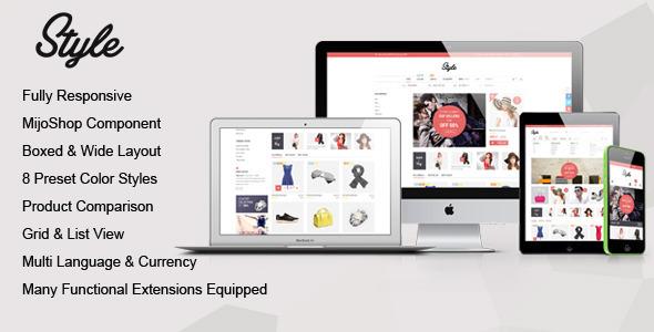 Style – Responsive Multipurpose MijoShop Template