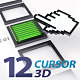 3D Cursors for Web - VideoHive Item for Sale