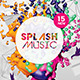 Abstract Splash Flyer Templates - GraphicRiver Item for Sale