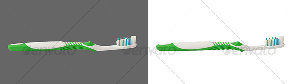 Toothbrush - Home & Office Isolated Objects