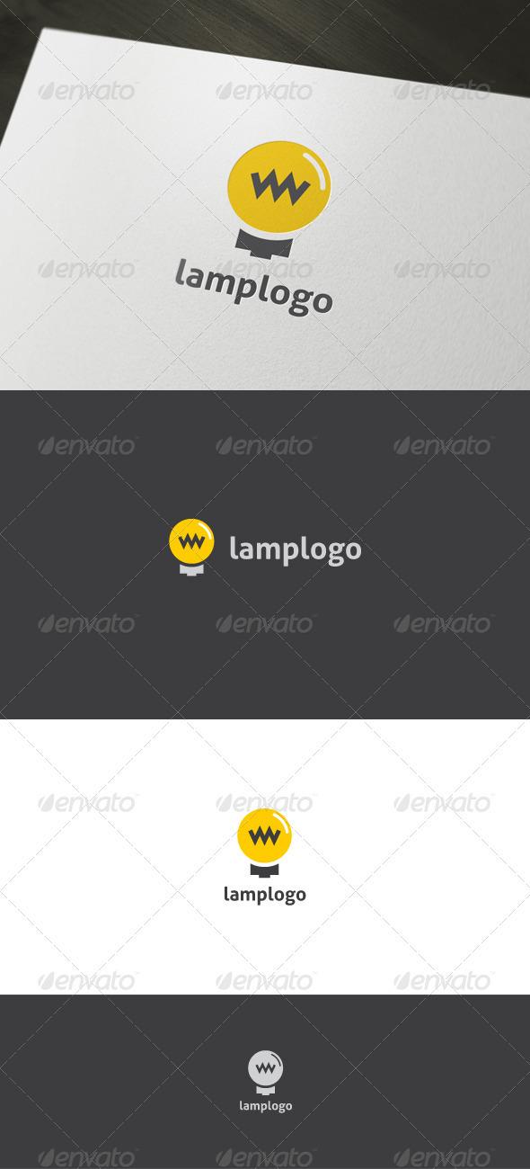 Lamp Logo - Objects Logo Templates