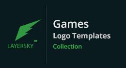 Games Logo Templates collection