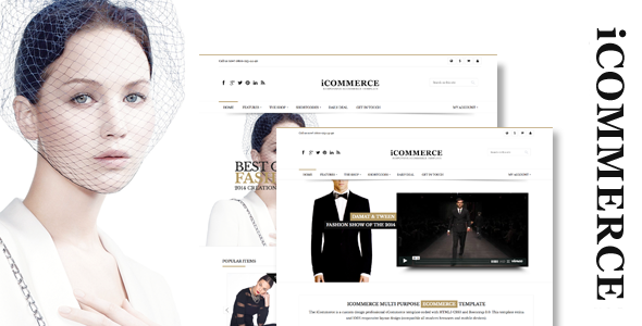 iCommerce - Responsive Prestashop Theme - Shopping PrestaShop