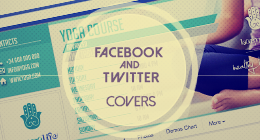 Facebook and Twitter Cover Templates