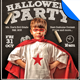 Kid's Class Halloween Party Flyer Template