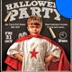 Kid's Class Halloween Party Flyer Template