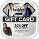 Men Fashion Style Clothing Gift Vouchers - GraphicRiver Item for Sale