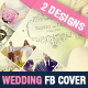 Wedding Photo Album Facebook Cover Template - GraphicRiver Item for Sale