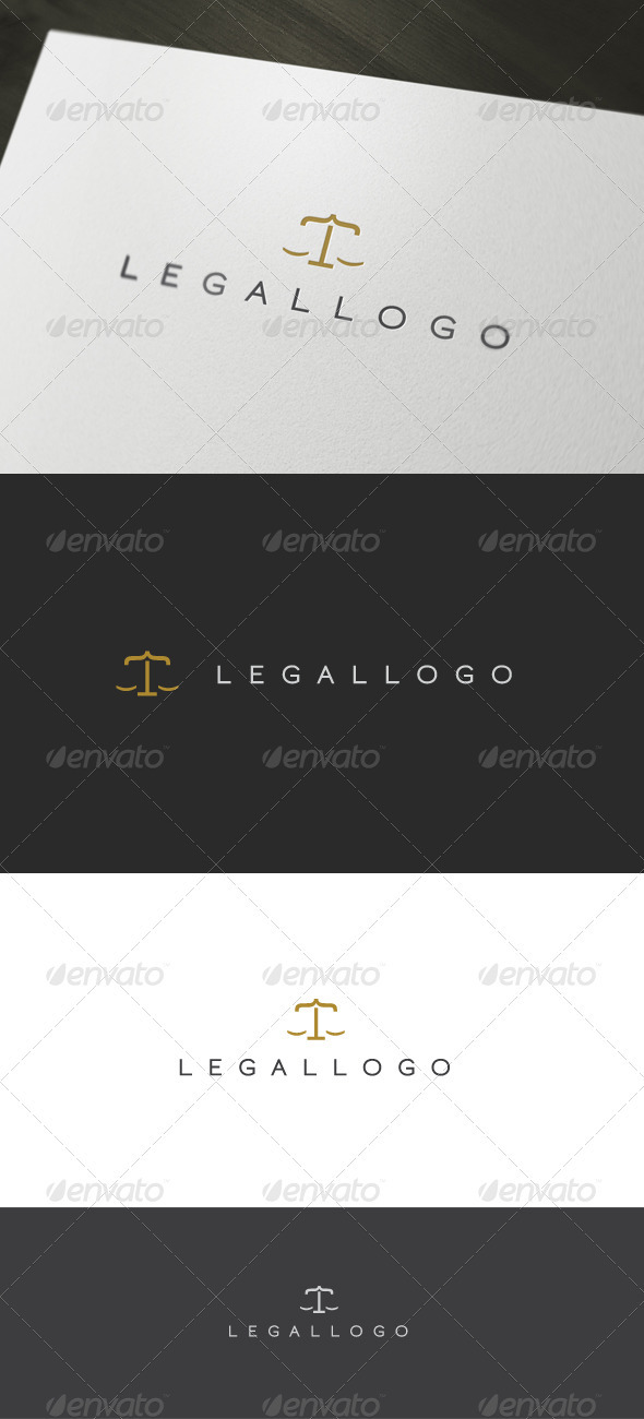 Legal Logo - Letters Logo Templates