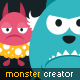 Monster Creation Kit and Large Pack - GraphicRiver Item for Sale