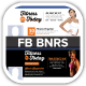 Fitness First Today Health Promotional FB Banners - GraphicRiver Item for Sale