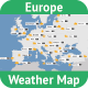 Europe Weather Map - GraphicRiver Item for Sale