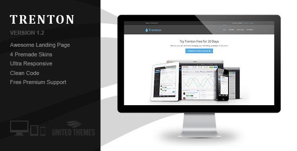 Trenton – App Starter Landing Page