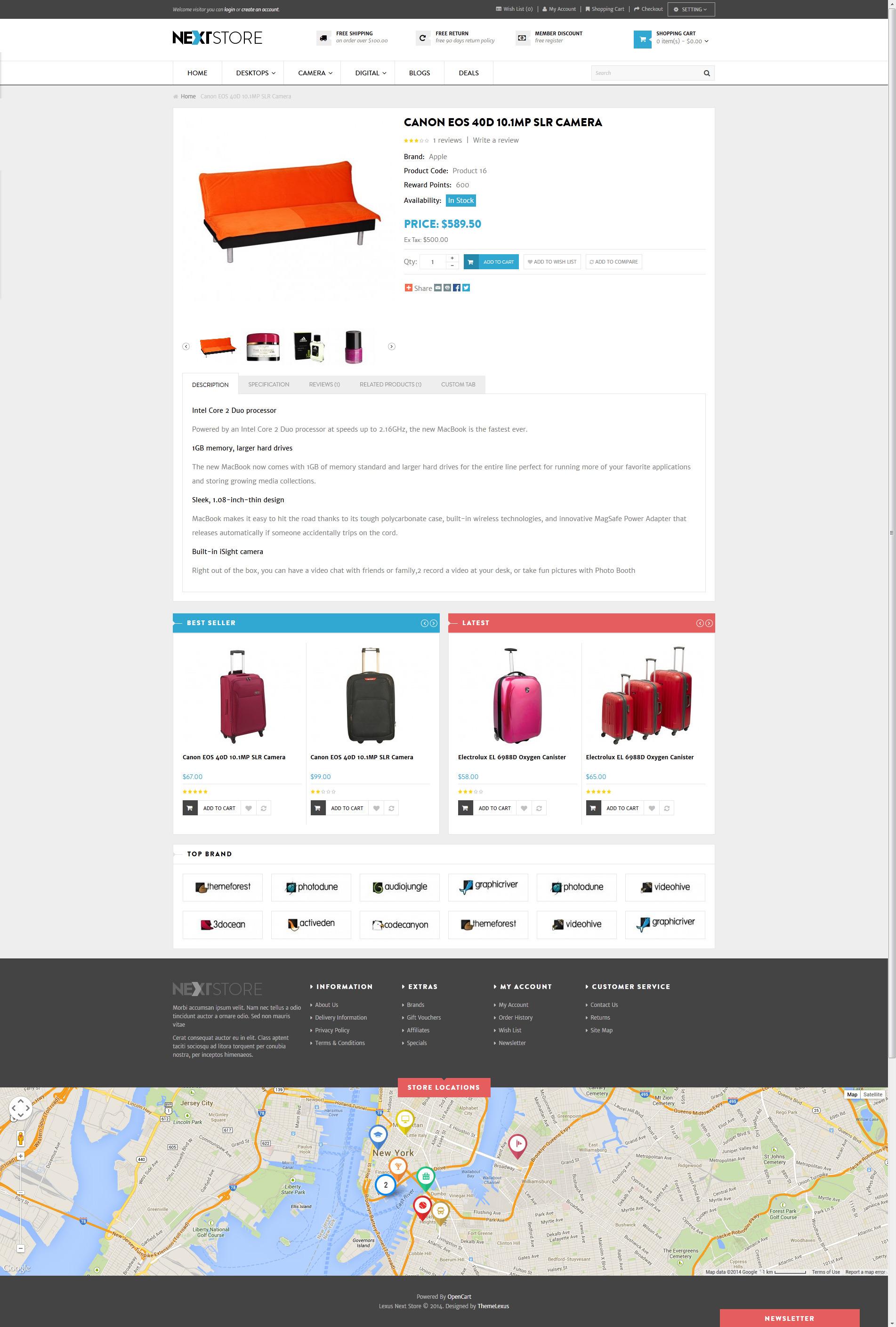 Venus Next Store Responsive Magento Theme By Venustheme