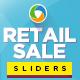 Retail Sale Sliders - GraphicRiver Item for Sale