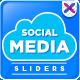 Social Media Sliders - GraphicRiver Item for Sale