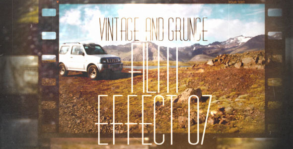 Vintage And Grunge Film Effect 07 By Ninjainc Videohive